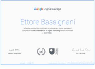 Google - Fundamentals of Digital Marketing Certification