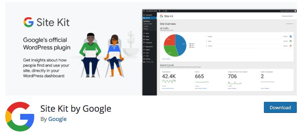 7 Best Plugins for WordPress - Google Site Kit